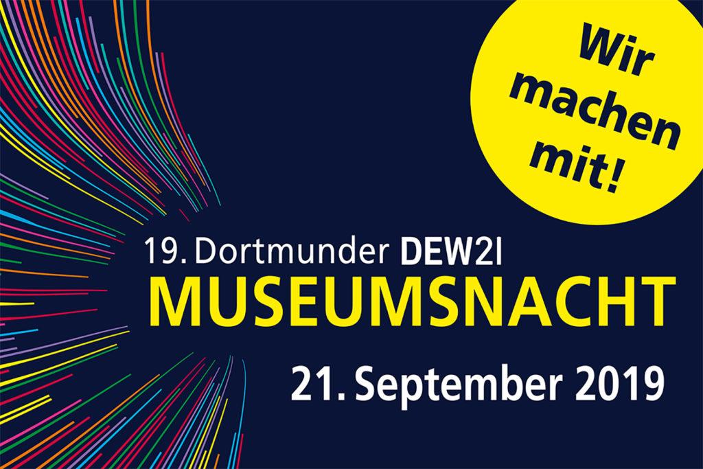 Dortmunder DEW21-Museumsnacht - Wir sind dabei!